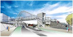 Overpass clipart pedestrian lane