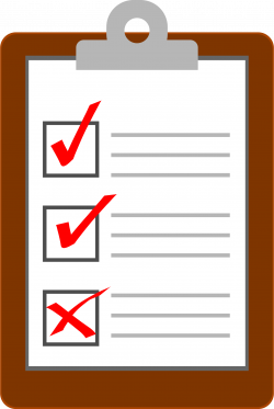 Overview clipart clipboard