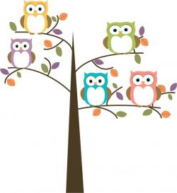 Hoot clipart colorful owl