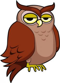 Moving clipart owl