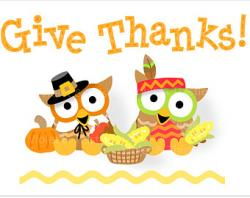 Thanksgiving clipart give thanks