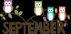 Word clipart september