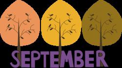Fall clipart september