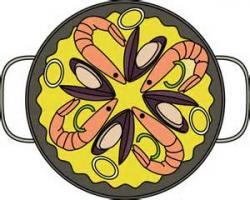 Paella clipart