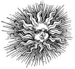 Pagan clipart sun