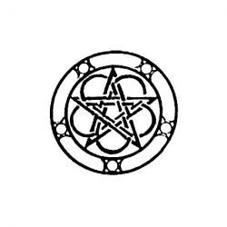 Pentagram clipart celtic