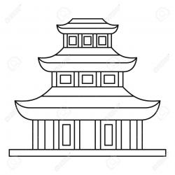 Temple clipart buddhist temple