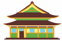 Pagoda clipart china house