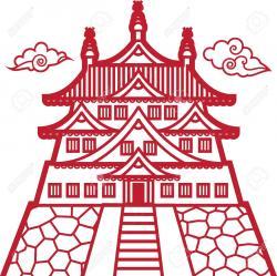 Pagoda clipart chinatown