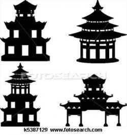 Pagoda clipart chinese palace