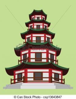 Temple clipart pagoda