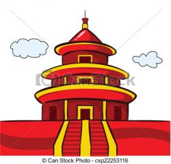 Pagoda clipart chinese temple
