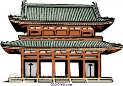 Temple clipart japanese temple