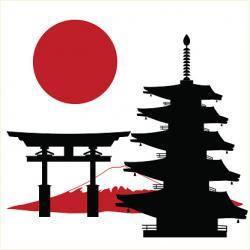 Pagoda clipart shrine