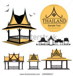 Thai clipart thai house