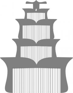 Pagoda clipart vector