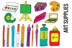 Products clipart art supply
