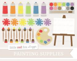 Water Color clipart paintbrush