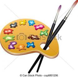 Palette clipart hobby