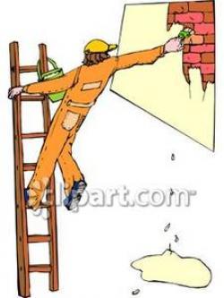 Paint clipart ladder