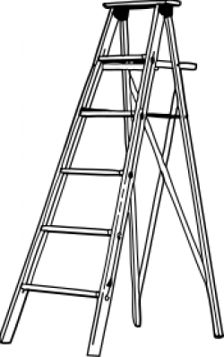 Painting clipart ladder