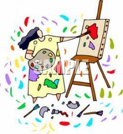 Paint clipart mess