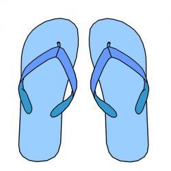 Sandal clipart flip flop