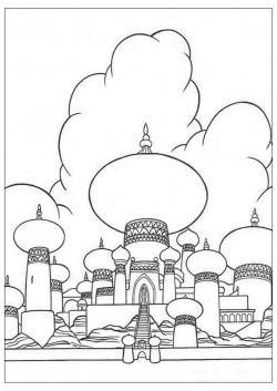 Drawn palace agrabah
