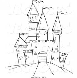 Drawn palace cartoon