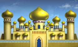 Arabien Nights clipart arabian palace