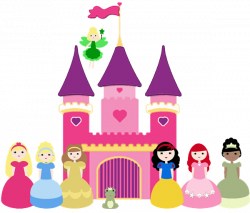 Palace clipart sleeping beauty castle