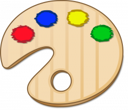 Color clipart color pallet