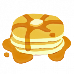 Breakfast clipart stack pancake