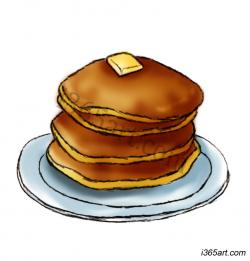 Smiley clipart pancake
