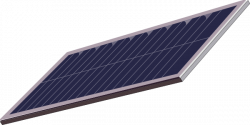 Panels clipart solar cell