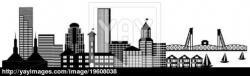 Panorama clipart city outline