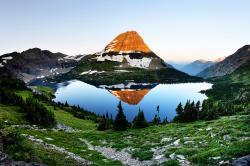 Panorama clipart glacier national park