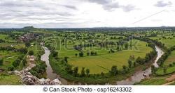 Panorama clipart indian