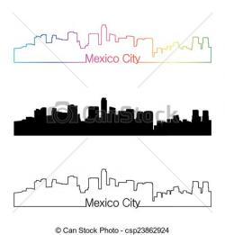 City clipart mexico city