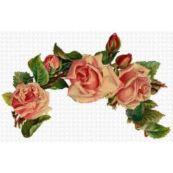 Pansy clipart flower garland