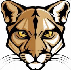 Puma clipart cougar head