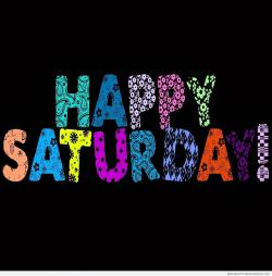 Saturday clipart happy saturday