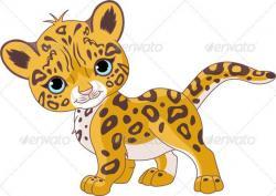 Bobcat clipart cute cartoon