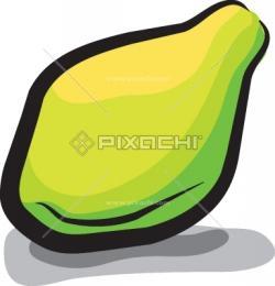 Papaya clipart green