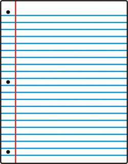 Letter clipart piece paper