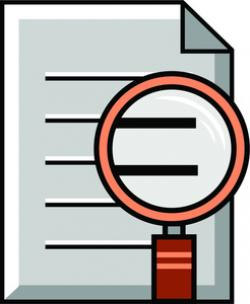 See clipart document review