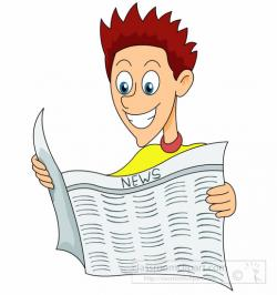 Lounge clipart newspaper