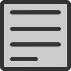 Paper clipart text