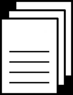 Paper clipart worksheet
