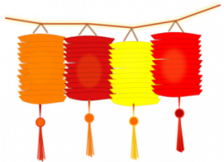 Asians clipart paper lantern